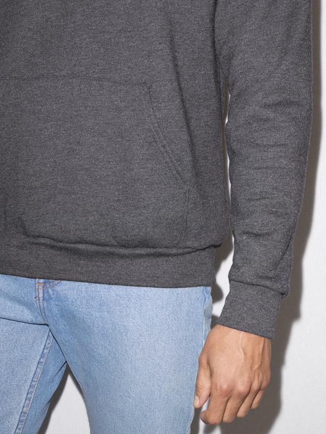 Flex Fleece Pullover Hoodie (Dark Heather Grey)