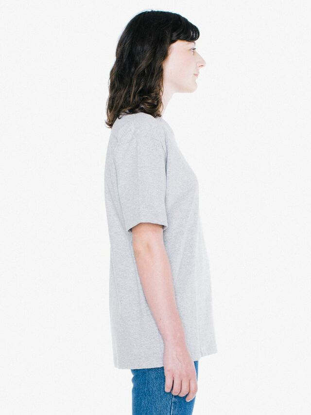 Unisex Heavy Jersey Box T-Shirt (Heather Grey)