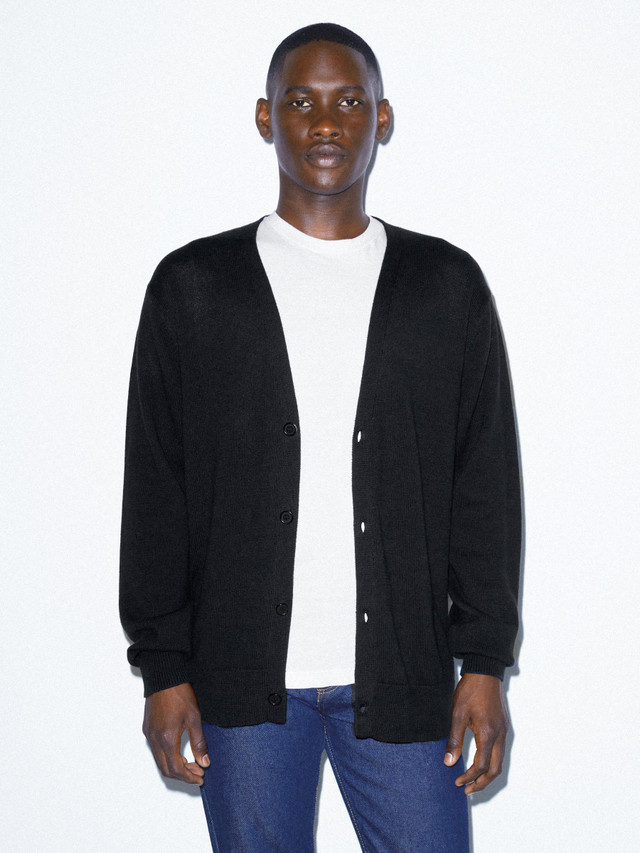 Basic Knit Cardigan (Black)