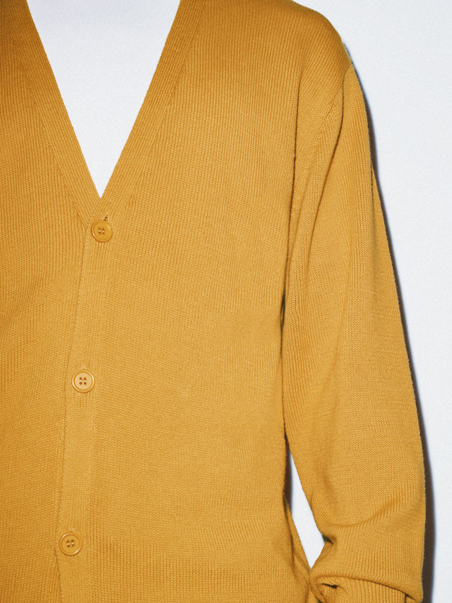 Basic Knit Cardigan (Honey)