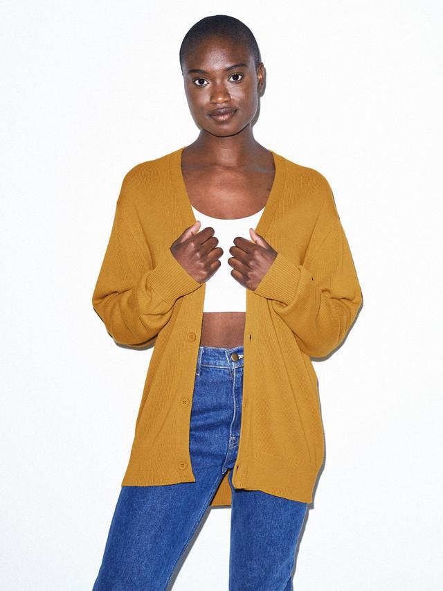 Unisex Basic Knit Cardigan (Honey)