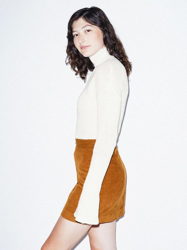 Fisherman Bell Sleeve Sweater (Ivory)