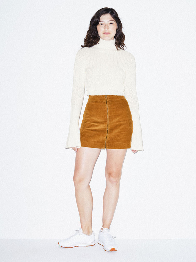 Fisherman Bell Sleeve Sweater (Ivory)