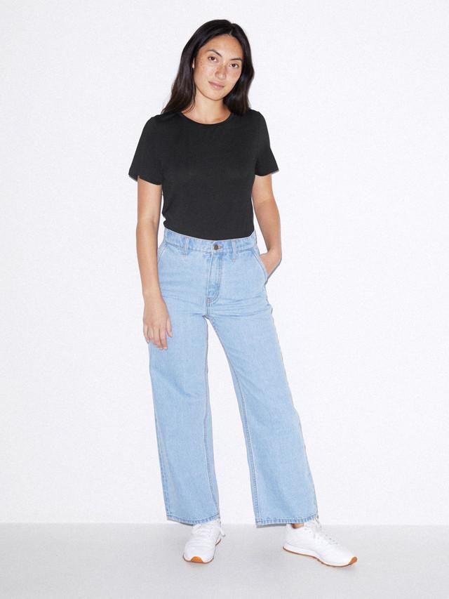 Mix Modal T-Shirt Bodysuit (Black)