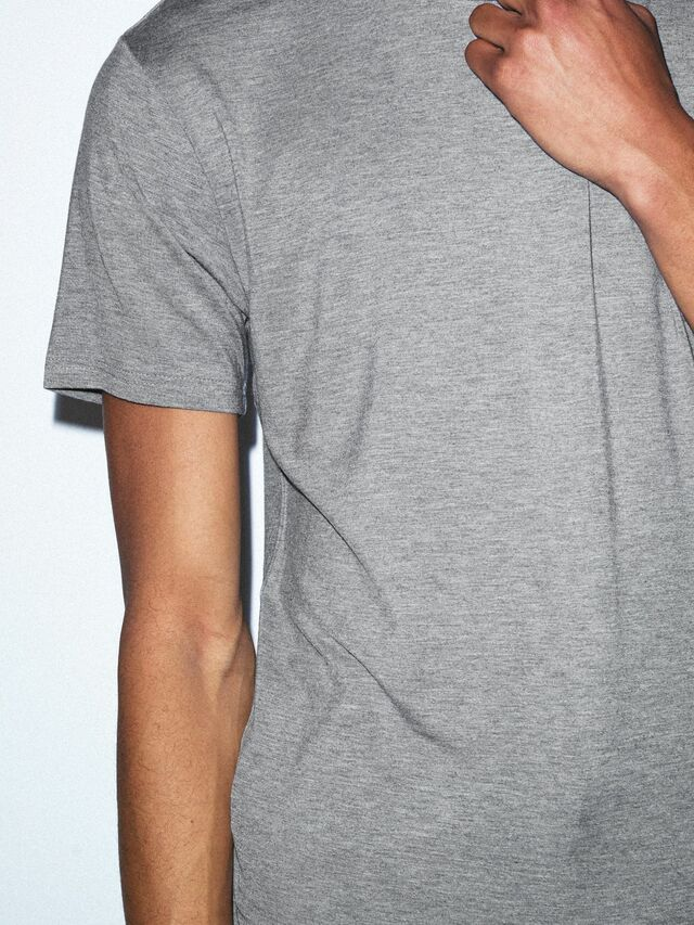 Mix Modal Short Sleeve T-Shirt (Heather Charcoal)
