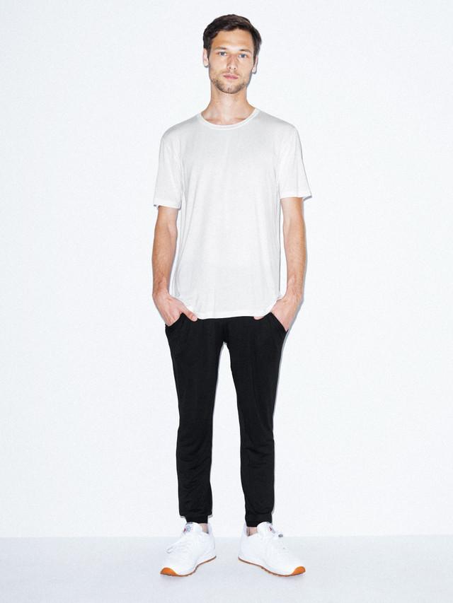 Mix Modal Lounge Pant (Black)
