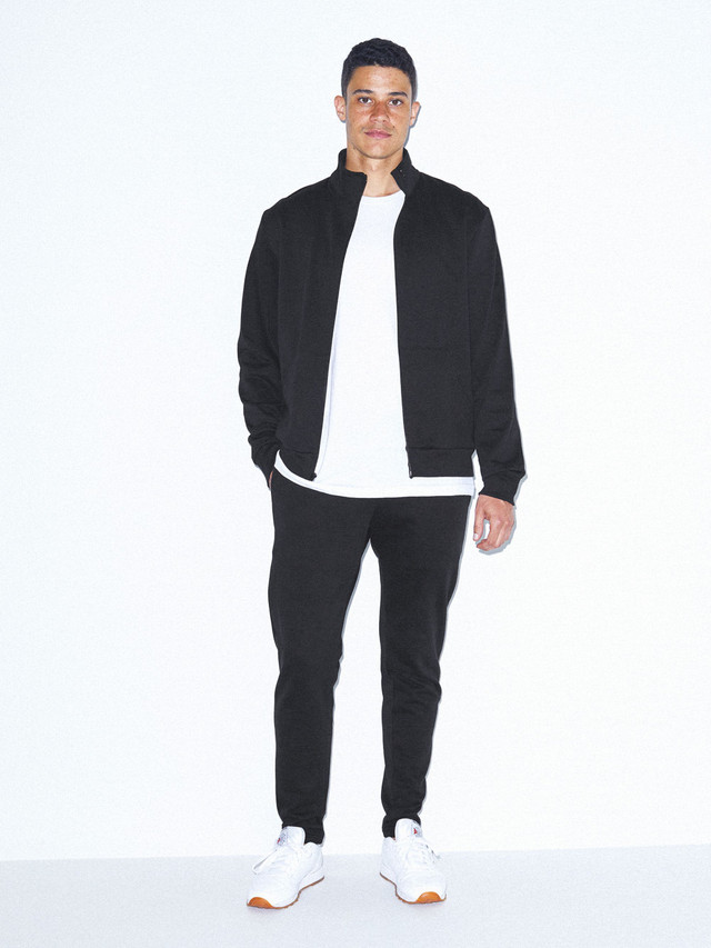California Fleece Slim Fit Jogger (Black)