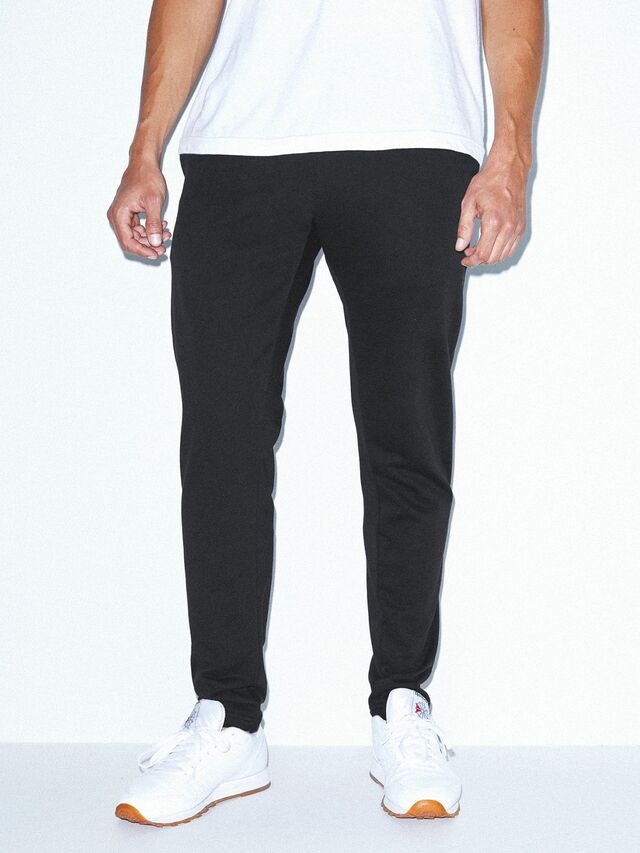 California Fleece Slim Fit Jogger (Black)