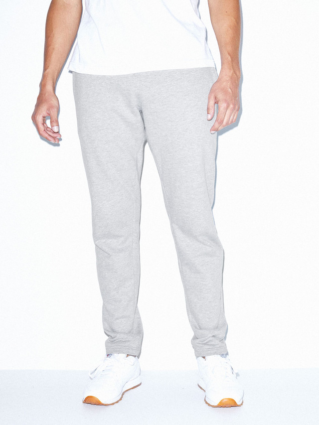 California Fleece Slim Fit Jogger (Heather Grey)