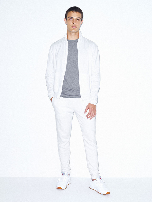 California Fleece Slim Fit Jogger (White)