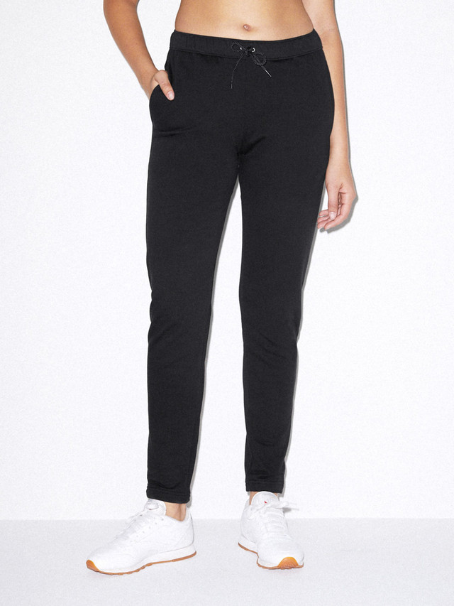 Unisex California Fleece Slim Fit Jogger (Black)