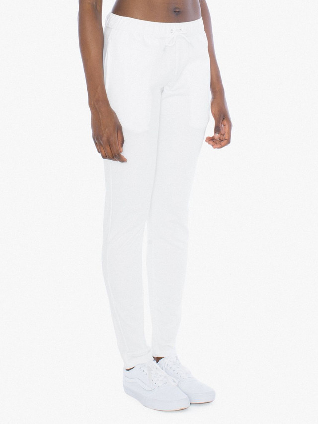 Unisex California Fleece Slim Fit Jogger (White)