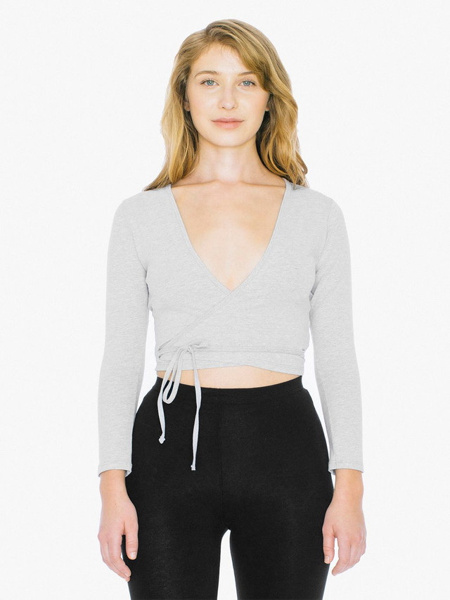 Cotton Spandex Julliard Top (Heather Grey)
