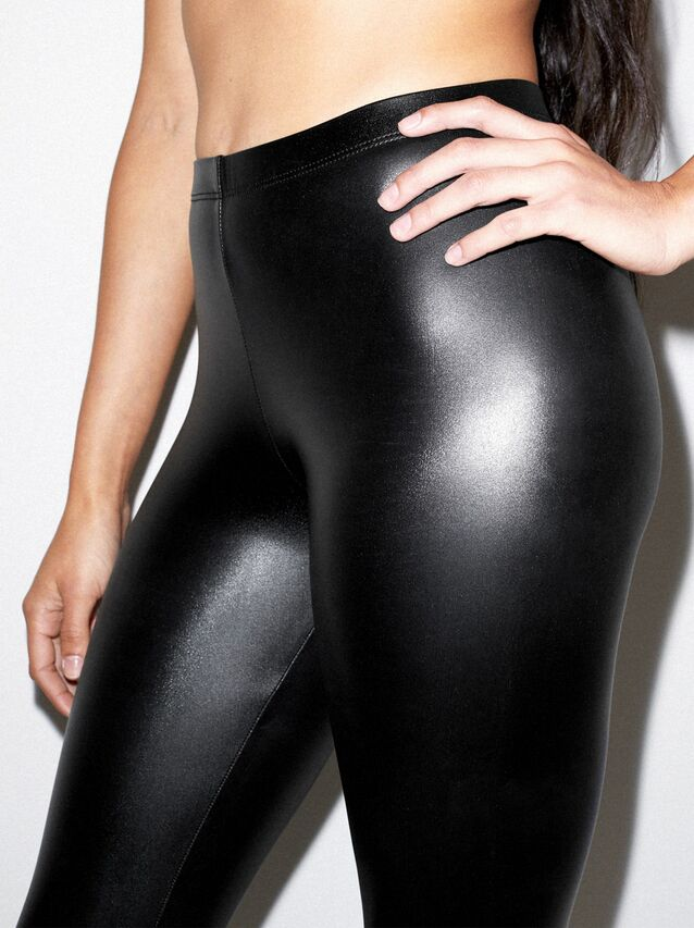Metallic Legging (Black)