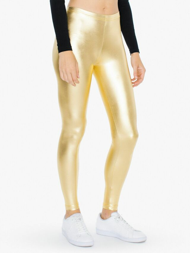 Metallic Legging (Gold)