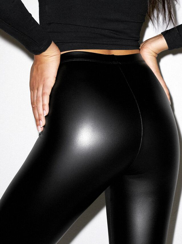 Metallic Legging (Matte Black)