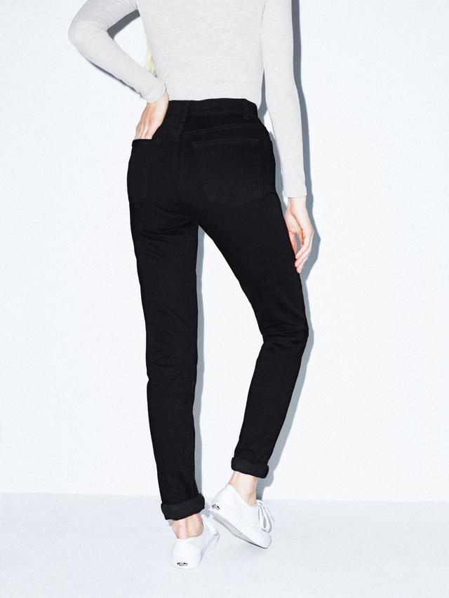 High-Waist Jean (Black)