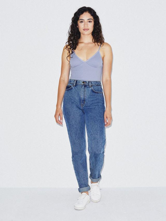 High-Waist Jean (Medium Marble Wash)