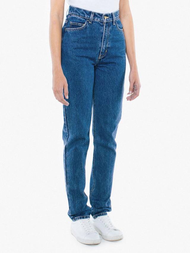 High-Waist Jean (Medium Wash)