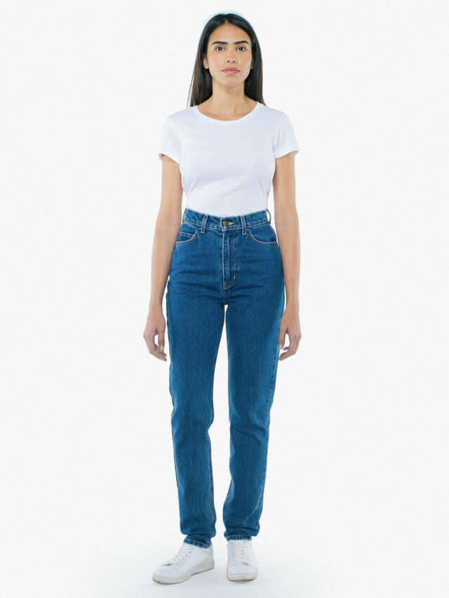 High-Waist Jean (Medium Wash)