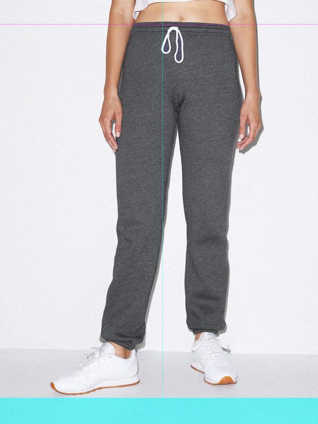 Unisex Flex Fleece Sweatpant (Dark Heather Grey)