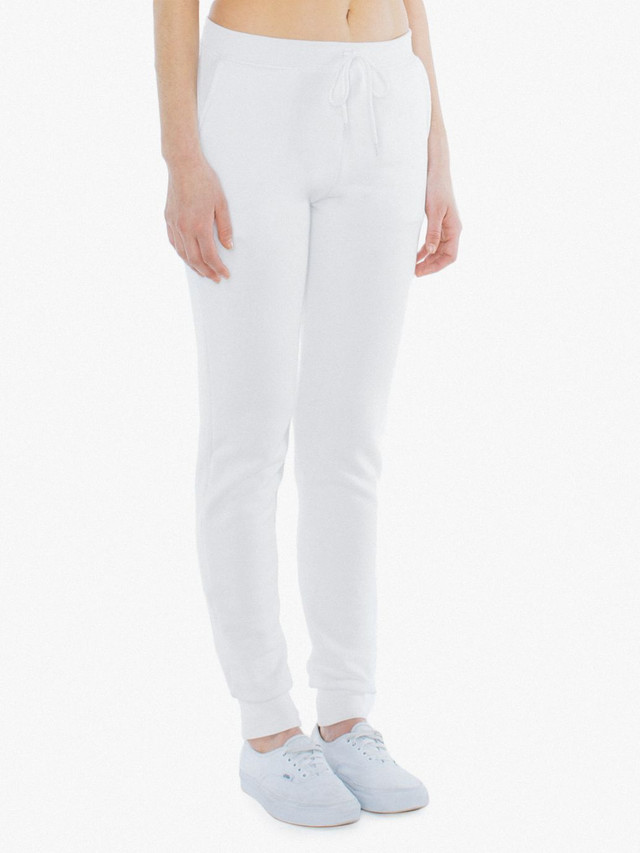 Unisex Flex Fleece Jogger (White)