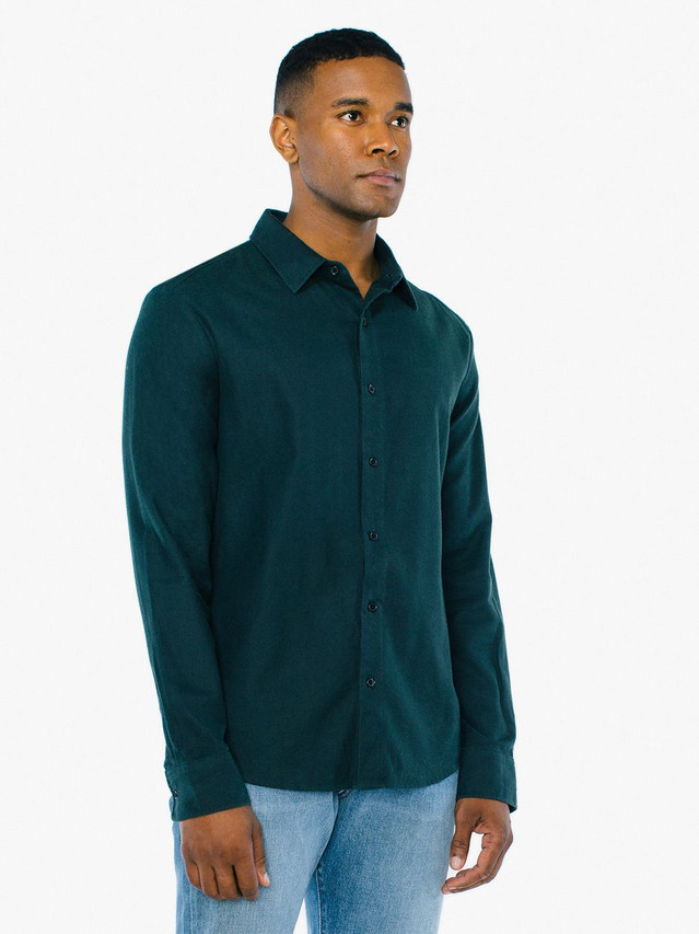 Flannel Classic Shirt (Forest)