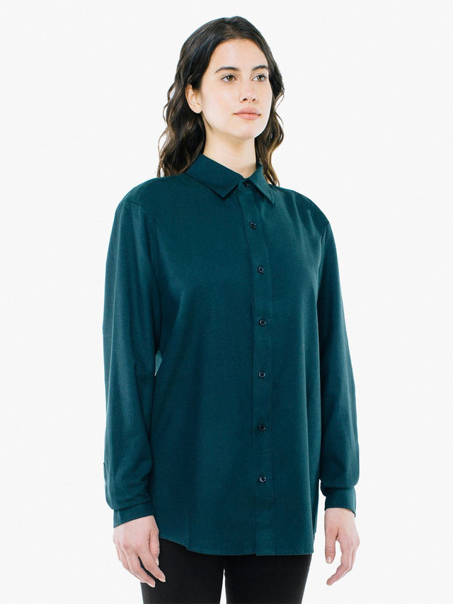 Unisex Flannel Classic Shirt (Forest)