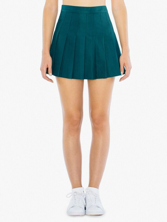 Gabardine Tennis Skirt (Forest)