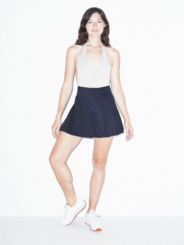Gabardine Tennis Skirt (Patriot Blue)