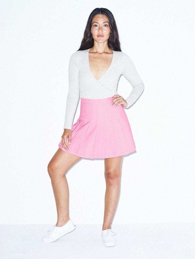 Gabardine Tennis Skirt (Pink)