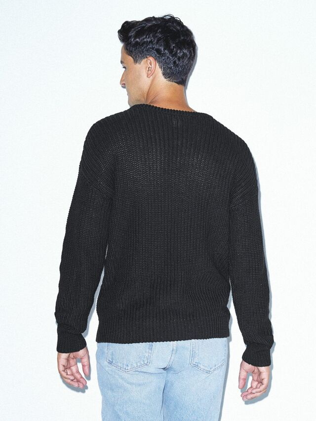 Fisherman's Pullover (Black)