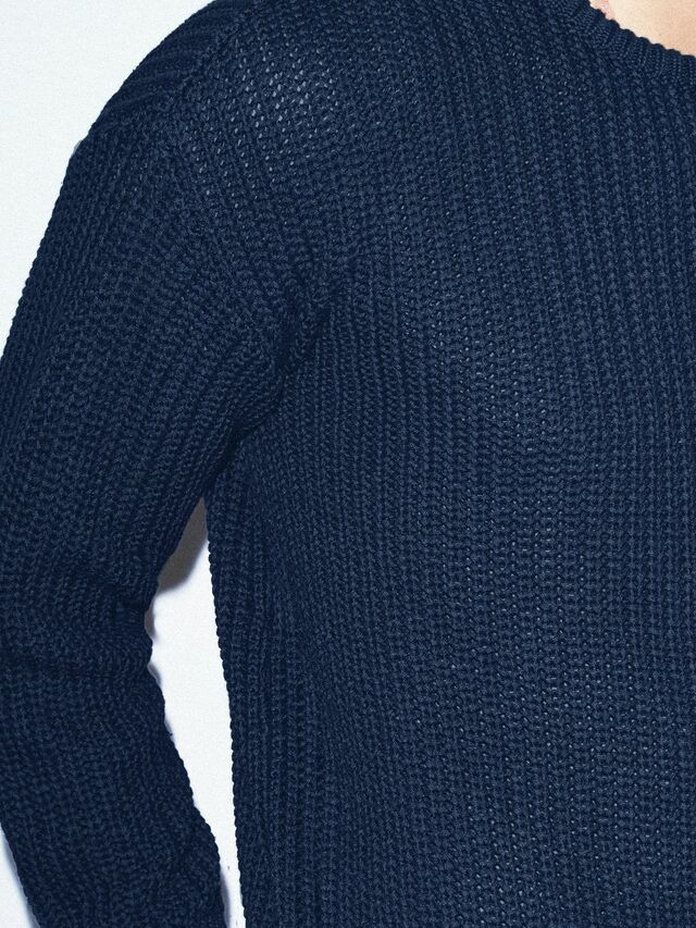 Fisherman's Pullover (Navy)