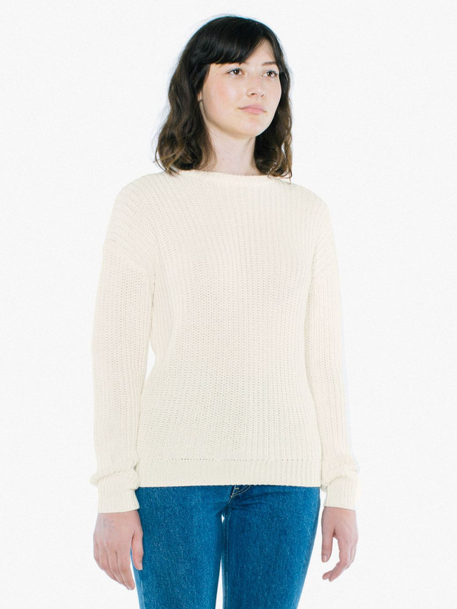 Unisex Fisherman's Pullover (Ivory)