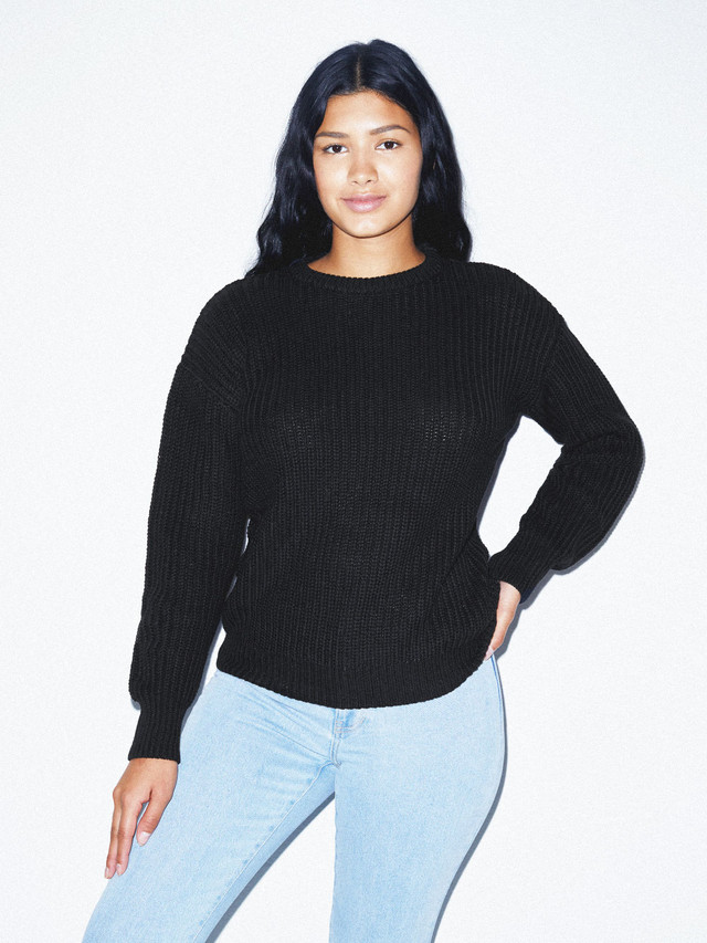 Unisex Fisherman's Pullover (Black)