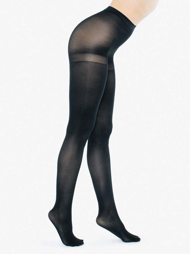 Opaque Pantyhose (Black)