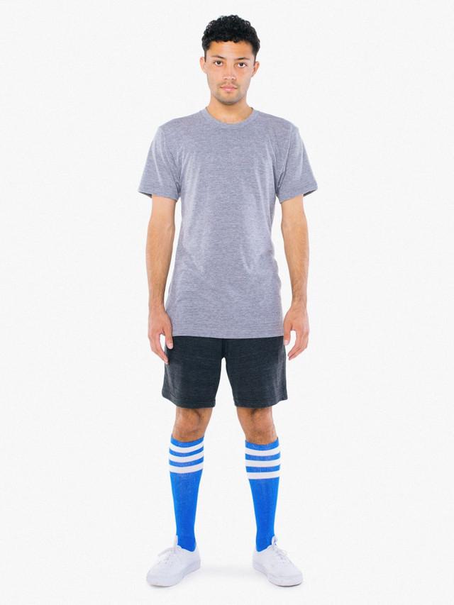 Stripe Knee-High Sock (Royal Blue/White)