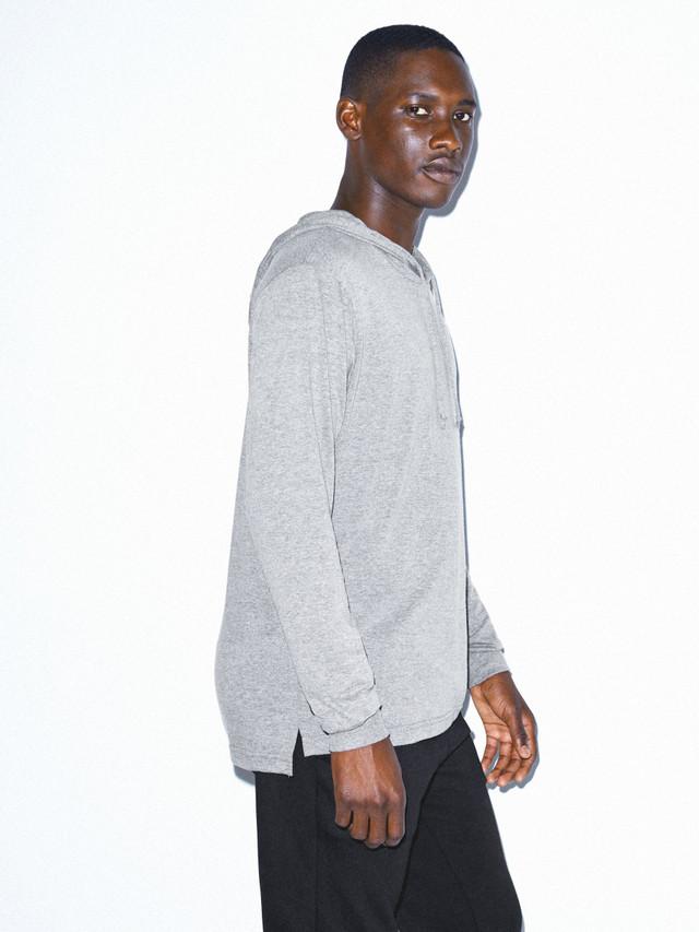 Tri-Blend Pullover Hoodie (Athletic Grey)