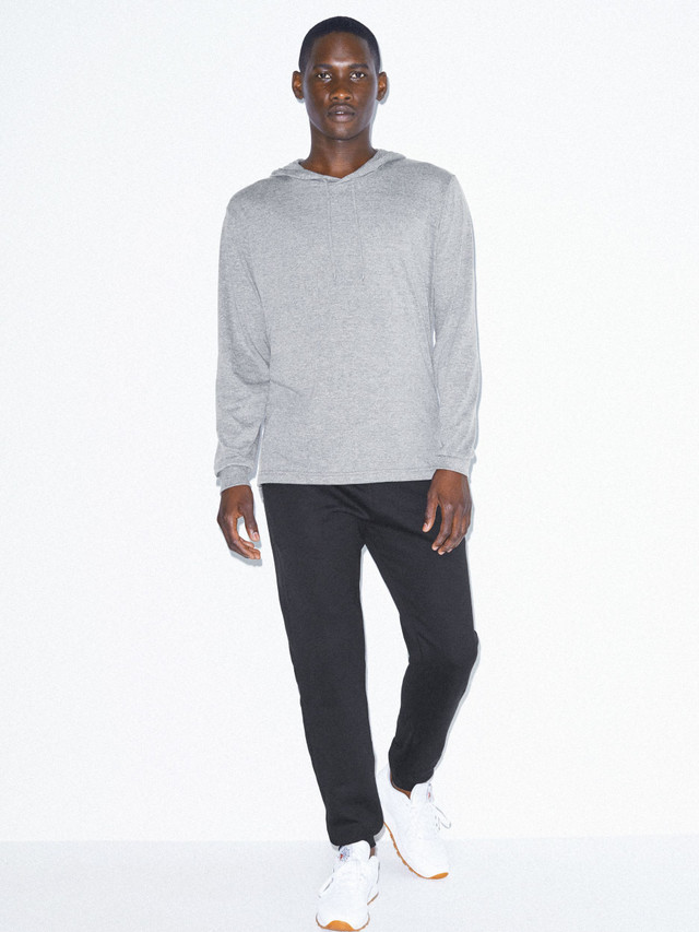 Tri-Blend Pullover Hoodie (Athletic Grey)
