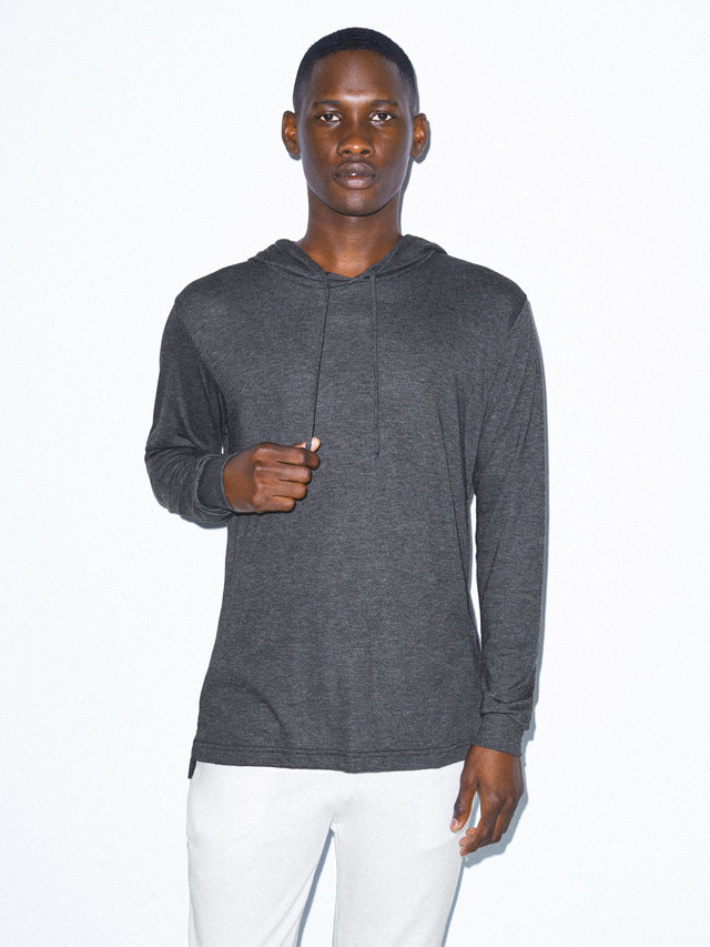 Tri-Blend Pullover Hoodie (Tri-Black)