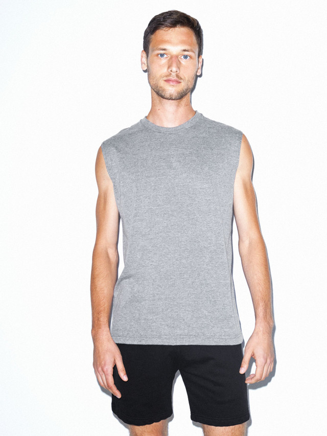 Tri-Blend Muscle Tank (Athletic Grey)