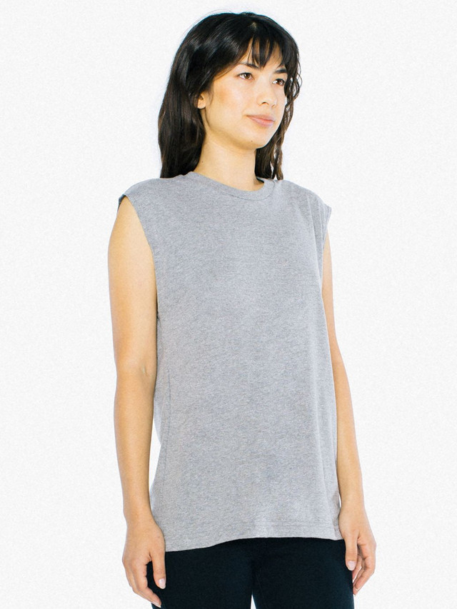 Unisex Tri-Blend Muscle Tank (Athletic Grey)