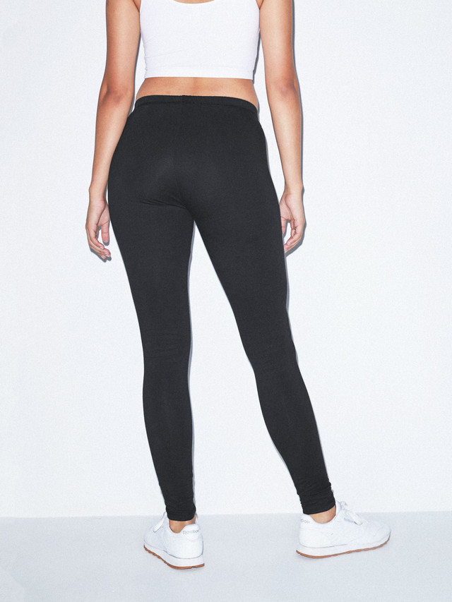 Stretch Terry Legging (Black)