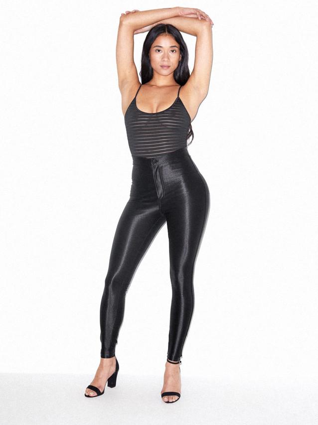 Shadow Stripe Bodysuit (Black)