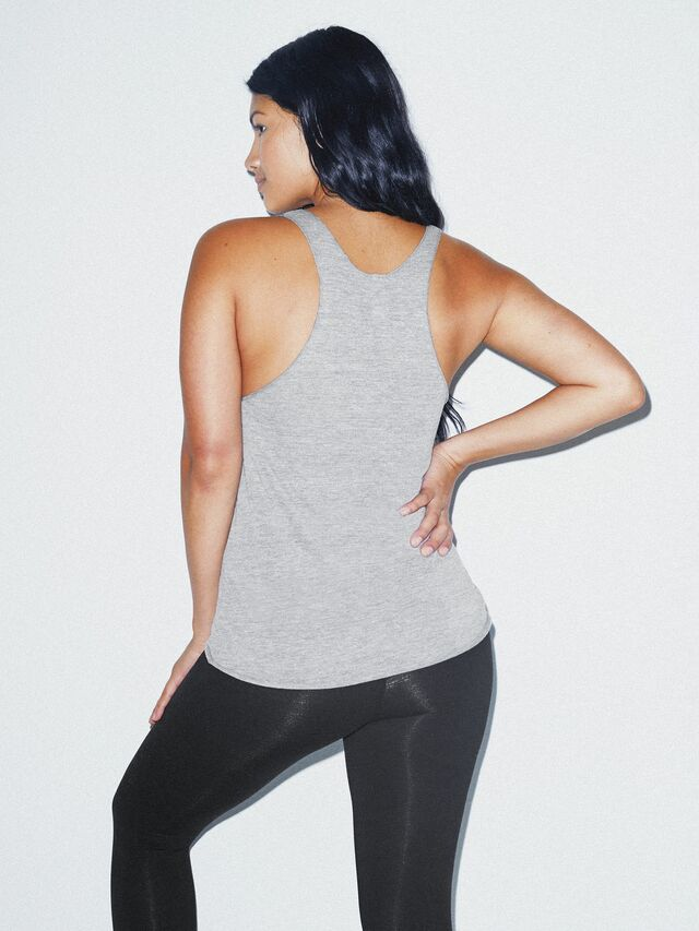 Tri-Blend Racerback Tank (Athletic Grey)