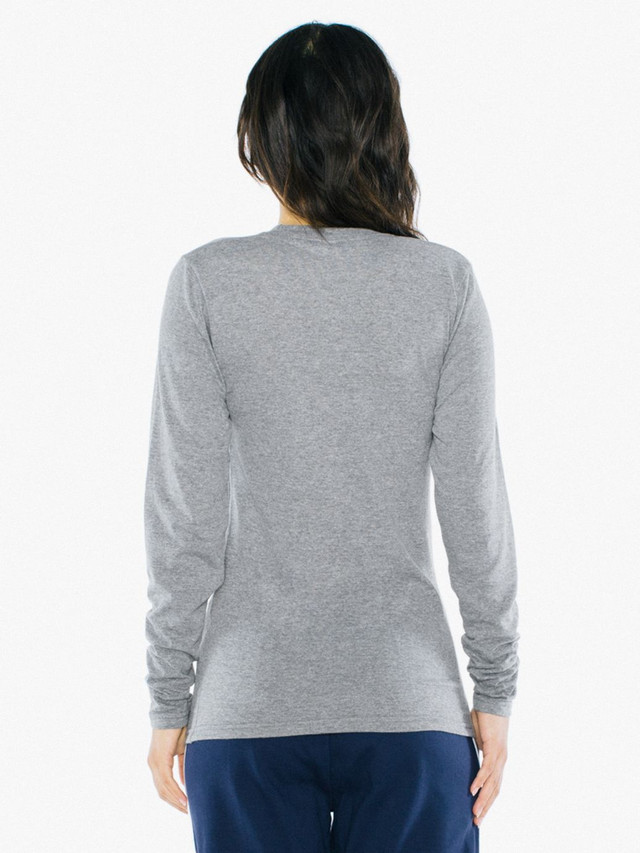 Unisex Tri-Blend Long Sleeve T-Shirt (Athletic Grey)