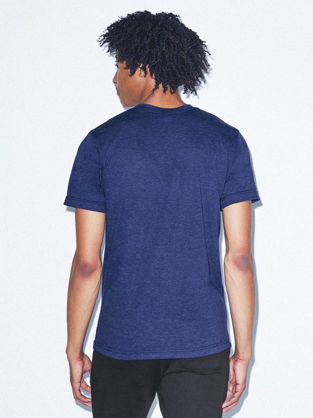 Tri-Blend V-Neck T-Shirt (Tri-Indigo)