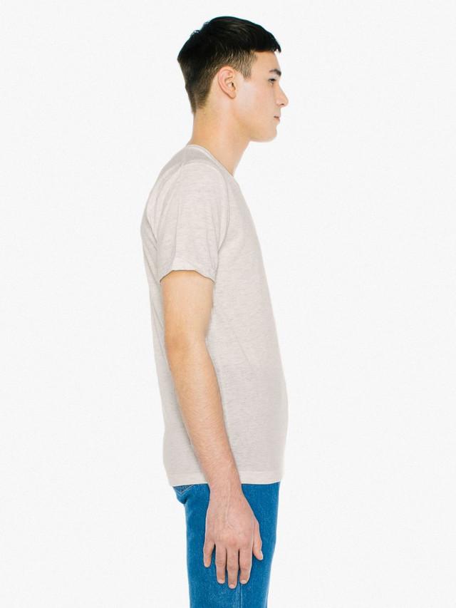 Tri-Blend V-Neck T-Shirt (Tri-Oatmeal)