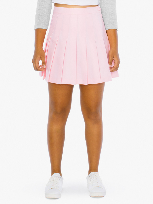 Kids' Gabardine Tennis Skirt (Pink)