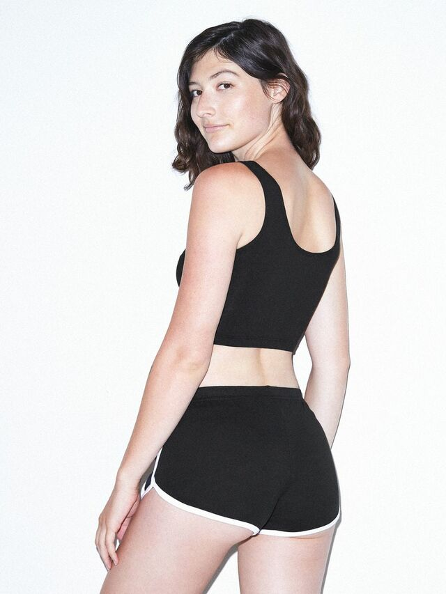 Interlock Running Short (Black/White)